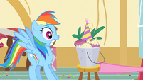 Rainbow sees Mr. Turnip S1E25