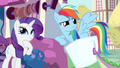 Rarity & Rainbow Dash thinking about it S3E11.png