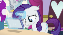 Rarity -been so busy running my shop- S7E6