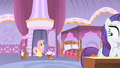 Rarity alarmed to see Fluttershy in doorway S1E17.png
