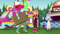 "Sunset Shimmer ""it's not you, it's her"" EGSBP"