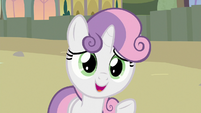 "Sweetie Belle ""visit your sister in Equestria"" S8E6"