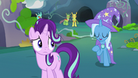 Trixie -don't be too hard on Starlight- S7E17