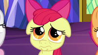 Apple Bloom with puppy dog pout S9E22
