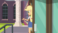 "Applejack ""you comin', Sunset?"" EG3.png"