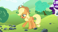 Applejack 'for a pebble in a haystack' S4E18