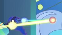 Celestia and Luna blasting magic together S9E24