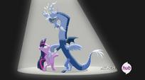 Discord y twilight bailando 3
