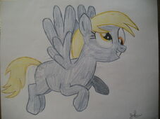 FANMADE Derpy drawing