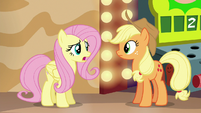 Fluttershy --how can we get everypony to believe-- S6E20