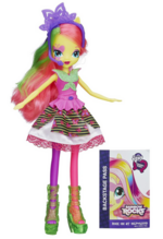 Fluttershy Equestria Girls Rainbow Rocks neon doll