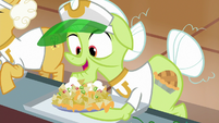 "Granny Smith ""I love me some nachos"" S8E5"