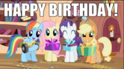 Happy Birthday MLP
