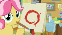 Kettle Corn reveals her painting of a circle S7E21