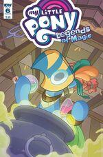 Legends of Magic issue 6 sub cover