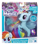 MLP The Movie Glitter & Style Seapony Rainbow Dash packaging