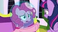 "Pinkie Pie ""before the balloon went"" S9E4"