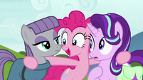"""Pinkie Pie """"how is this possible"""" S7E4"""