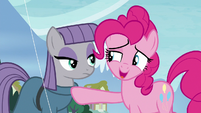 Pinkie Pie -maybe you could settle- S8E3