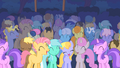 Pony crowd laughs at CMC S01E18.png