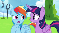 "Rainbow Dash ""he's lost his confidence"" S6E24"