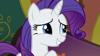 Rarity --slight modifications to the menu-- S6E12