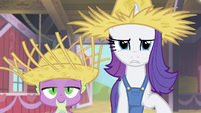 Rarity -is this some kind of joke- S4E13