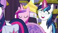 Shining Armor -I can't wait to get on this zeppelin- S7E22