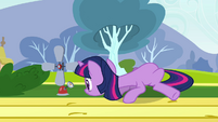 Twilight reading measurement for Fluttershy S2E22