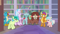 Young Six in wide-eyed shock S8E22