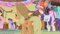 Applejack at Gilda's party S01E05.png