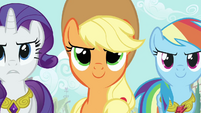 Applejack confident face S03E13