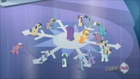 Applejack keeping Crystal Ponies at bay S3E2