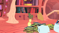 Applejack under pile of books S1E08.png