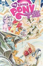 Comic issue 39 cover RI
