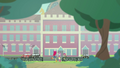 Cutie Mark Crusaders outside Canterlot High EGFF.png