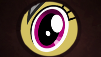 Daring Do peering into door keyhole S6E13