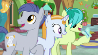 Friendship students meet the butterflies S8E12