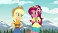 Gloriosa Daisy loves Applejack's idea EG4.png