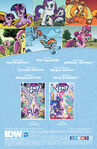 My Little Pony IDW 20-20 credits page