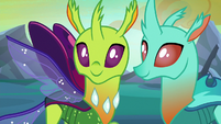New changelings looking happy S6E26