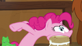 Pinkie Pie eats her yak cake in one bite S7E11.png