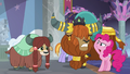 Pinkie Pie saluting to Prince Rutherford S8E1.png