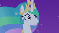 Princess Celestia -there's nopony else to talk to!- S7E10