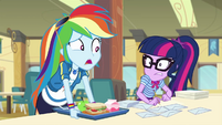 "Rainbow Dash ""four more hours?!"" EGDS22"
