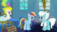 Rainbow Dash --go ahead and call me-- S6E7