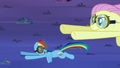 Rainbow Dash happy to see Fluttershy S2E22.png