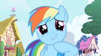 Rainbow Dash snickers S1E01