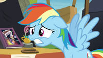 Rainbow Dash worried S4E22