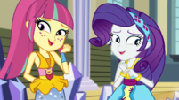 Rarity and Sour Sweet laughing embarrassed EGS1
